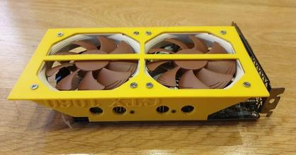 zotac gtx 1060 3gb single fan dual noctua 92mm pwm fan adapter prusaprinters zotac gtx 1060 3gb single fan dual noctua 92mm pwm fan adapter prusaprinters