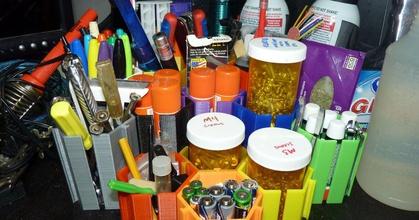 mew mew modular desk tidy v201 - prusaprinters mew mew modular desk tidy v201 - prusaprinters