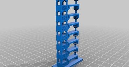 temperature tower calibration test 220-190 prusaprinters temperature tower calibration test 220-190 prusaprinters