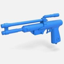 blaster pistola boba fett mandaloriano impressão pronto 3d modelo blaster pistola boba fett mandaloriano impressão pronto 3d modelo