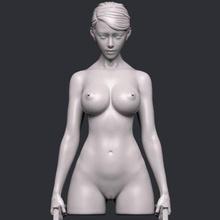 female gunman 007 print ready 3d model female gunman 007 print ready 3d model