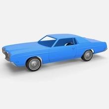vado 1971 cáscara ruedas impresión Listo 3d modelo vado 1971 cáscara ruedas impresión Listo 3d modelo