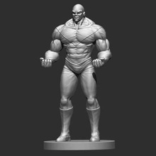 jiren dragon ball super print ready 3d model jiren character real life version dragonball superi have 2 formats model1 stl 2 parts ready printing full body + base size x 150 mm y 300 mm z 99 mm if your printing can't print full body one part you could send email me solve problem you 2 obji hope you like it if you have any question problem model change scale missing files something else please contact methank you