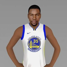 kevin durant full color print ready 3d model here kevin durant 3d model ready full color 3d printing scale 1 10 - 206 mm height but you can adjust size you want zip file contains obj wrl texture png model created zbrush mudbox photoshopi am attaching stl file if you would like 3d print standard materials tooif you have any questions please don't hesitate contact me respond you asap encourage you check my other celebrity 3d models