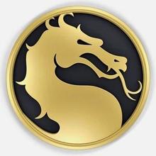mortal kombat logo pronti per la stampa del modello 3d modello dimensioni - diametro 80 mm - spessore 8 mmdesigned solid works 2012 reso keyshot 5099