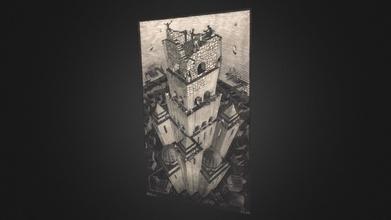 2019 maurits cornelis escher Babele Torre 3d modello lufo arte lufoart a993387 2019 maurits cornelis escher Babele Torre 3d modello