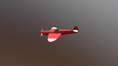 airplane - 3d model jessica jessicale 80bc5f2 low poly airplane created but not used augmented reality project made entirely maya - airplane - 3d model jessica jessicale 80bc5f2