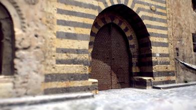 aleppo khan al-wazir facciata - modello 3d hashem95 hashem95 fcc3038 khan al-wazir caravanserraglio trova a città vecchia di aleppo, thd khan, costruito tra il 1678 1682 durante il periodo ottomano - aleppo khan al-wazir facciata - modello 3d hashem95 hashem95 fcc3038