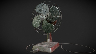 animated desk fan - buy royalty free 3d model chris sweetwood chrissweetwood 644013b wanted tell story model idea being old desk fan used abandoned office after years non use has become severely weathered barely functional download includes &ldquo additional file&rdquo containing high res 4k textures two cord models one shown here one plugging into wall original blend file mesh animation editing animations include &ldquo fan activate&rdquo simple bouncy startup animation fan turned on &ldquo fan 01&rdquo idle slight uneven spin &ldquo fan 02&rdquo another idle completely linear &ldquo fan 03&rdquo last idle has extremely exaggerated uneven spin &ldquo fan kill&rdquo simple wobbly deactivate animation fan turned off all animations blend seamlessly active through any idles ending kill can looped using idles combinations idle&rsquo s variation feedback welcomed my first animated mesh sketchfab - animated desk fan - buy royalty free 3d model chris sweetwood chrissweetwood 644013b