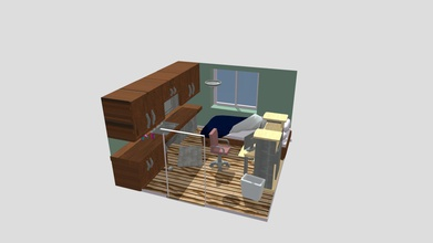 apartment room - download free 3d model mre sauce mre sauce 7678e14 room had made class maya most textures handmade me made intention being interior only walls originally had backface culling applied them - apartment room - download free 3d model mre sauce mre sauce 7678e14