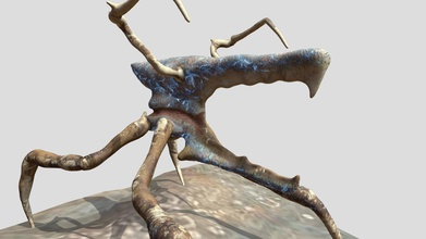 arachnid - 3d model entechlaron entechlaron 7dd3408 starship troopers fan art arachnid common attack bug variety sculpted likeness those appearing film textures different take i&rsquo m not responsible sculpting asked if could use post somewhere then proceeded textured rig up substance painter + blender - arachnid - 3d model entechlaron entechlaron 7dd3408