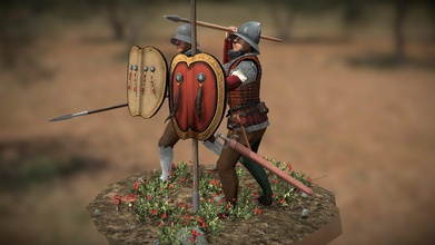 aragonese infantry - download free 3d model mylae mylae c5f7cf2 medieval 2 total war - machiavello mod model aragonese infantry around mid-xv century number iberian soldiers followed alfonso v his conquest kingdom naples they usually had shield - usually adarga - couple javelins lance well sword knife head hat cap helmet contemporary sources depicts them brigandine haubergeon sometime having pieces leg armour relatively lightly armoured respect heavier italian counterparts but more dedicated proactive assault role forerunner sword-and-buckler infantry later developed spain - aragonese infantry - download free 3d model mylae mylae c5f7cf2
