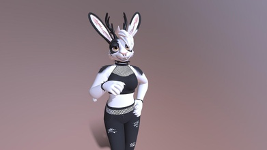 ari vrchat avatar - 3d model meelo meelo 2c6d418 avatar made ari bunny jackalope made used vrchat avatar features lip sync emotes couple cool outfits - ari vrchat avatar - 3d model meelo meelo 2c6d418