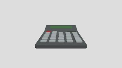 calculator 40 min - 3d model tojoga dgladskikh 4aa5519 took 40 minutes - calculator 40 min - 3d model tojoga dgladskikh 4aa5519