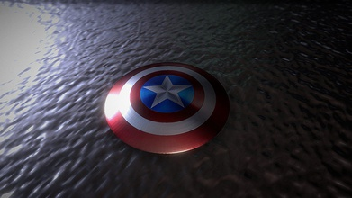 captain america shield - download free 3d model luckicher luckicher 9233b64 captain america shield object my project if want know more visit my twitter avengers endgame - captain america shield - download free 3d model luckicher luckicher 9233b64
