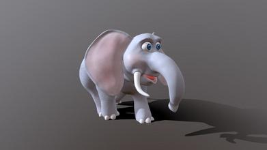 cartoon elephant - buy royalty free 3d model 3danvil 3danvil 977104d cartoon elephant - buy royalty free 3d model 3danvil 3danvil 977104d
