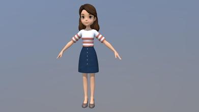 cartoon woman girl people - 3d model tingting er tingting er 9dfa83b woman girl people - cartoon woman girl people - 3d model tingting er tingting er 9dfa83b