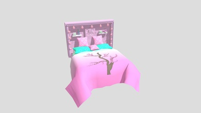 cherry blossom bed - 3d model emmagoss55 emmagoss55 b3609b5 cherry blossom themed bed created inside substance painter using procedurals alphas cherry blossom stamp drawn myself procreate imported into substance - cherry blossom bed - 3d model emmagoss55 emmagoss55 b3609b5