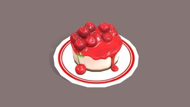cherry cheese cake - 3d model fathima raseed fathimaraseed 46de02d cherry cheese cake - 3d model fathima raseed fathimaraseed 46de02d