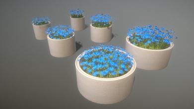 hormigón tubo ollas azul flores comprar realeza gratis 3d modelo vis all 3d vis all aef6915 hormigón tubo ollas azul flores comprar realeza gratis 3d modelo vis all 3d