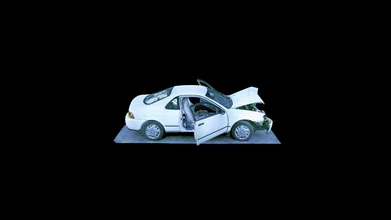 crashed toyota doors open - 3d model faro technologies faro-marketing 9bb5fbd captured less than 5 minutes freestyle 2 - crashed toyota doors open - 3d model faro technologies faro-marketing 9bb5fbd