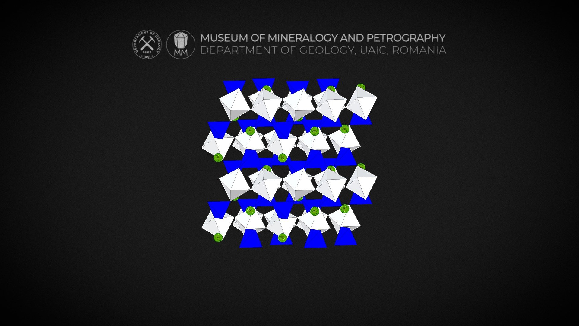 crystal structure titanit