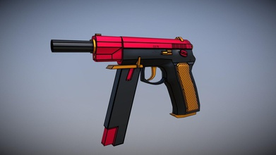 cz-75 auto - download free 3d model tomnortheast99 tomnortheast99 e6146ee here very simple borderlands inspired cz-75 modelled 3ds max textured using substance painter - cz-75 auto - download free 3d model tomnortheast99 tomnortheast99 e6146ee
