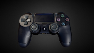 dualshock 4 - 3d model roohianmax roohianmax afe2c6b hi dualshock 4 made 3ds max substance painter rendered marmoset toolbag polycount around 6000 tris all mapped 1 4k texture set 2k sketchfab performance full res artstation  please leave your comments below let me - dualshock 4 - 3d model roohianmax roohianmax afe2c6b