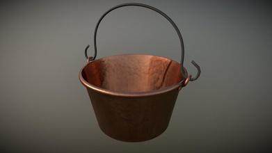 dutch kettle - 3d model michael sheyahshe anm 2d3f05c dutch kettle animated show other elements were made using copper material - dutch kettle - 3d model michael sheyahshe anm 2d3f05c