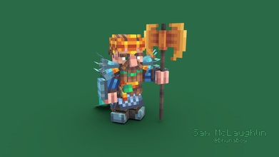 dwarf king - 3d model sam mclaughlin bhunaboy 85c567c dwarf king project modelled textured sam mclaughlin bhuna produced rizaan made blockbench contact me available marketplace minecraft work follow me twitter contact me discord sam mclaughlin 4095 contact me email samuelmclaughlin talktalknet - dwarf king - 3d model sam mclaughlin bhunaboy 85c567c