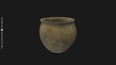 egg-shaped pot small opening & flaring rim - download free 3d model royal museums art history kmkg-mrah a8872c5 egg-shaped pot small opening flaring rim argaric culture early-middle bronze age 2300-1600 bc  inventory number pg28071352 find object museum s online catalog carmentis - egg-shaped pot small opening & flaring rim - download free 3d model royal museums art history kmkg-mrah a8872c5