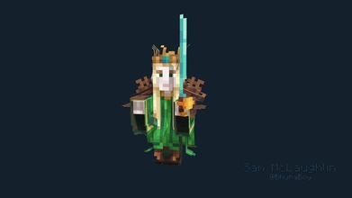 elven king - 3d model sam mclaughlin bhunaboy 52c07a1 elveb king project modelled textured sam mclaughlin bhuna produced rizaan made blockbench contact me available marketplace minecraft work follow me twitter contact me discord sam mclaughlin 4095 contact me email samuelmclaughlin talktalknet - elven king - 3d model sam mclaughlin bhunaboy 52c07a1