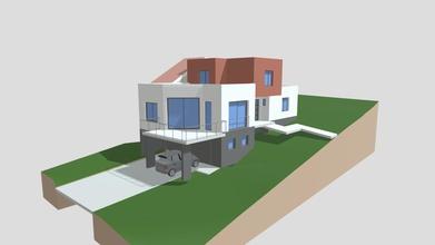 esquisse d'une maison corny - 3d model philippe blaise architecte gard philippeblaise fd12221 esquisse d'une maison corny - 3d model philippe blaise architecte gard philippeblaise fd12221