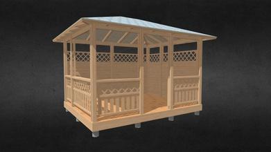 evb-4 pav sin sta iakamp - 3d model veber-wood rendersales 8e81710 klasikin pav sin 3 7m x 3m - evb-4 pav sin sta iakamp - 3d model veber-wood rendersales 8e81710