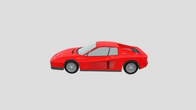 ferrari testarossa - download free 3d model li osh li osh 762c958 ferrari testarossa model car not perfect weels origin point not centerd light not detaled no interior  - ferrari testarossa - download free 3d model li osh li osh 762c958