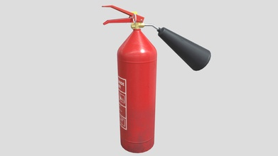 fire extinguisher - buy royalty free 3d model gromafon gromafon e6688df carbon dioxide fire extinguisher key features high-quality pbr-textures meshes come set lods lod0 lod1 lod2 high detailed close views model built real-world scale metric system efficient use uv space all materials objects named appropriately tested marmoset toolbag 3 ue4 unity no special plugins needed have opengl dirextx normal map texture maps unity albedo normal metalrougness ao unreal engine basecolor normal occlusionroughnessmetallic pbr metalrough albedo height metal rougness normal pbr specgloss diffuse glossines height specular normal texture resolution 1024 1024 px texel density 148 px cm textures have 8 bits per channel lods lod0 1102 tris lod1 497 tris lod2 234 tris formats fbx obj blend - fire extinguisher - buy royalty free 3d model gromafon gromafon e6688df