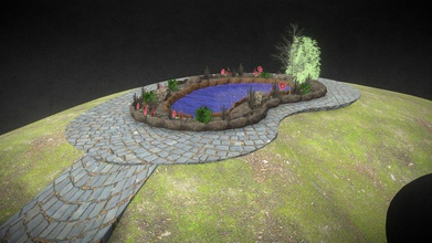 game ready garden pond dam - buy royalty free 3d model omegaredza omegaredza fc38f1a game ready garden pond dam mesh parts -pond hill trees bushes each uvs static light build ue4 import into ue4 untick &ldquo combine meshes&rdquo you can remove plants if you want import your own moving trees grass meshes centeres around 1 point full after sales support thru hstudioza gmailcom - game ready garden pond dam - buy royalty free 3d model omegaredza omegaredza fc38f1a