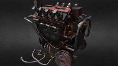 generator - dead daylight - 3d model danwolve danwolve d71d842 generator - dead daylight - 3d model danwolve danwolve d71d842