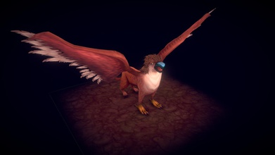 griffin - 3d model gustavo gontijo baiano22 c9ac46d am so happy finish project one real challenge me did my best put effort into lovely creature good project study retopology complex creatures rig advanced controllers do some animation fun my process involved quick sculpt zbrush identify forms proportions retopology made blender texturing photoshop 3d - coat thanks looking hope you like thanks everyone helped me process you were essential project obs eye head has little glitch sketchfab&hellip please look project artstation well https wwwartstationcom artwork poowzy - griffin - 3d model gustavo gontijo baiano22 c9ac46d