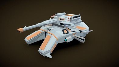 gruber mk ii antigrav tank - 3d model mike van riel mvriel 4cb0a04 gruber mk ii antigrav tank sometimes called hover tank lowpoly model made blender suitable sci-fi themed rts lowpoly style games - gruber mk ii antigrav tank - 3d model mike van riel mvriel 4cb0a04