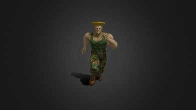 guil-004 running place - buy royalty free 3d model ipoypunk ipoypunk fdfb299 rigged animated guile street fighter 3d model low poly running place cycle textures pbr render included - guil-004 running place - buy royalty free 3d model ipoypunk ipoypunk fdfb299