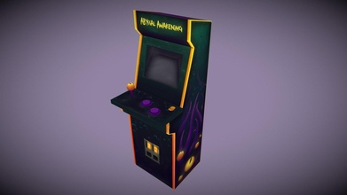 hand painted arcade - stylized station challenge - 3d model taylor gillett taylor gillett f70395a hand painted arcade - stylized station challenge - 3d model taylor gillett taylor gillett f70395a