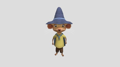 hazel looking behind - download free 3d model appsbypaulhamilton appsbypaulhamilton a8a372a hazel if were wizard 3 animations included paul hamilton - hazel looking behind - download free 3d model appsbypaulhamilton appsbypaulhamilton a8a372a