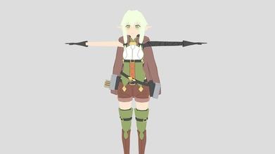 high elf archer hea goblin slayer - buy royalty free 3d model flairetic flairetic ad1da76 high elf archer hea goblin slayer - buy royalty free 3d model flairetic flairetic ad1da76
