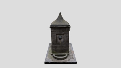 high street wellhead - download free 3d model rafael maya-torcelly torcelly 11b5064 provided water comiston springs via castlehill reservoir but fell desuse 19th century supplies individidual houses became possible - high street wellhead - download free 3d model rafael maya-torcelly torcelly 11b5064