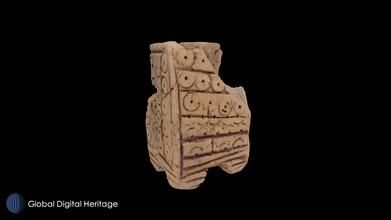 islamisch Keramik Turm castilla la beflecken Spanien download frei 3d Modell global Digital Erbe globaldigitalheritage 384f015 islamisch Keramik Turm castilla la beflecken Spanien download frei 3d