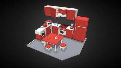 kitchen - download free 3d model leha pu leha pu d21b397 kitchen - download free 3d model leha pu leha pu d21b397