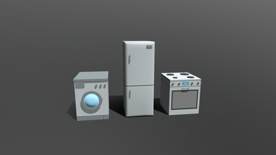low poly cartoon household electronic devices - buy royalty free 3d model chroma3d vendol21 92f77af low poly 3d model 3 household electronic devices low poly devices modeled prepared low-poly style renderings background general cg visualization presented 3 meshes quads verts 4737 faces 4375 3d model have simple materials diffuse colors no ring maps no uvw mapping available original file created blender you receive 3ds obj fbx blend dae stl all preview images were rendered blender cycles product ready render out-of-the-box please note lights cameras background only included blend file model clean alone other provided files centered origin has real-world scale - low poly cartoon household electronic devices - buy royalty free 3d model chroma3d vendol21 92f77af