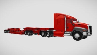 Lowboy trailer semi camion acquistare royalty gratuito 3d modello 3dhorse 3dhorse 227841e Lowboy trailer semi camion acquistare royalty gratuito 3d modello 3dhorse 3dhorse 227841e