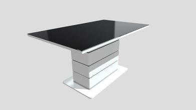 lucia table manger - buy royalty free 3d model penyadavid penyadavid 81b7ad1 table manger laqu blanc + plateau verre noir - lucia table manger - buy royalty free 3d model penyadavid penyadavid 81b7ad1